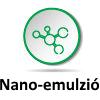 nanó-emulzió vízoldékony CBD jobb felszívódás, biohasznosulás